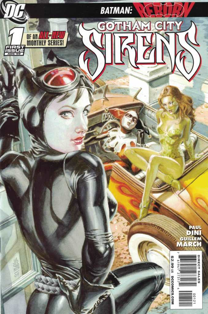 Gotham City Sirens #1 J.G. Jones 1:25 Variant