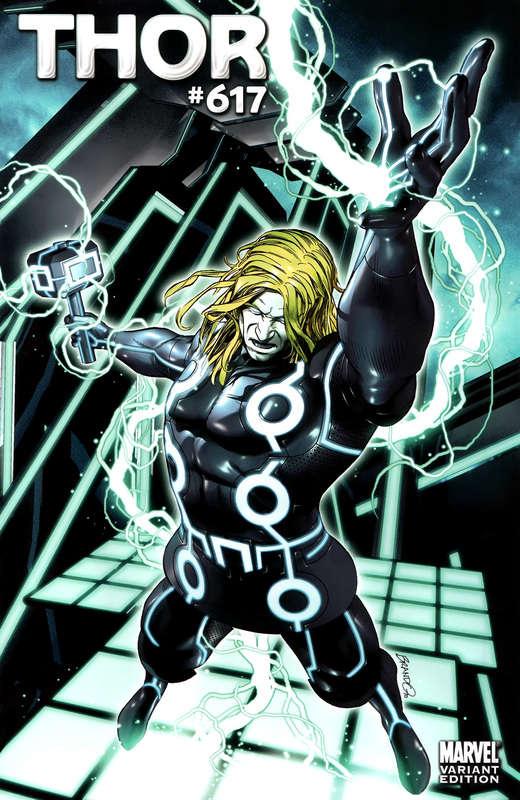 Thor #617 Tron Variant