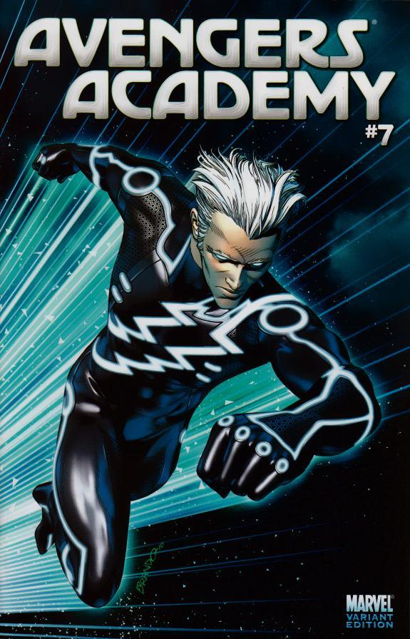 Avengers Academy #7 Tron Variant