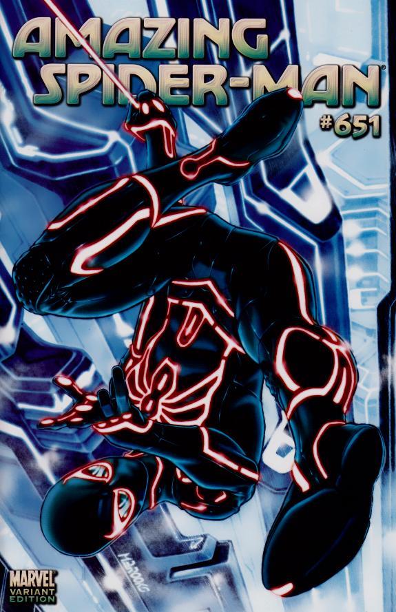 Amazing Spider-Man #651 Tron Variant