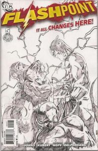 Flashpoint #5 Sketch Variant