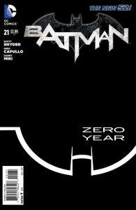 Batman #21 B&W Variant