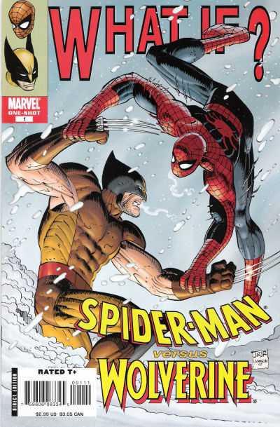 What If: Spider-Man vs Wolverine