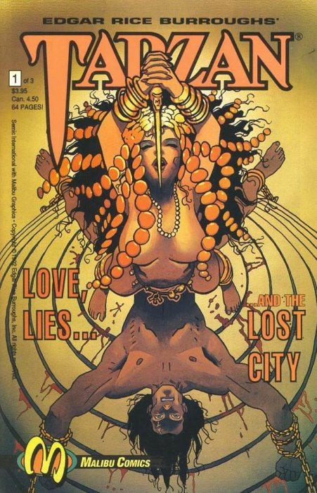Tarzan: Love, Lies and the Lost City #1
