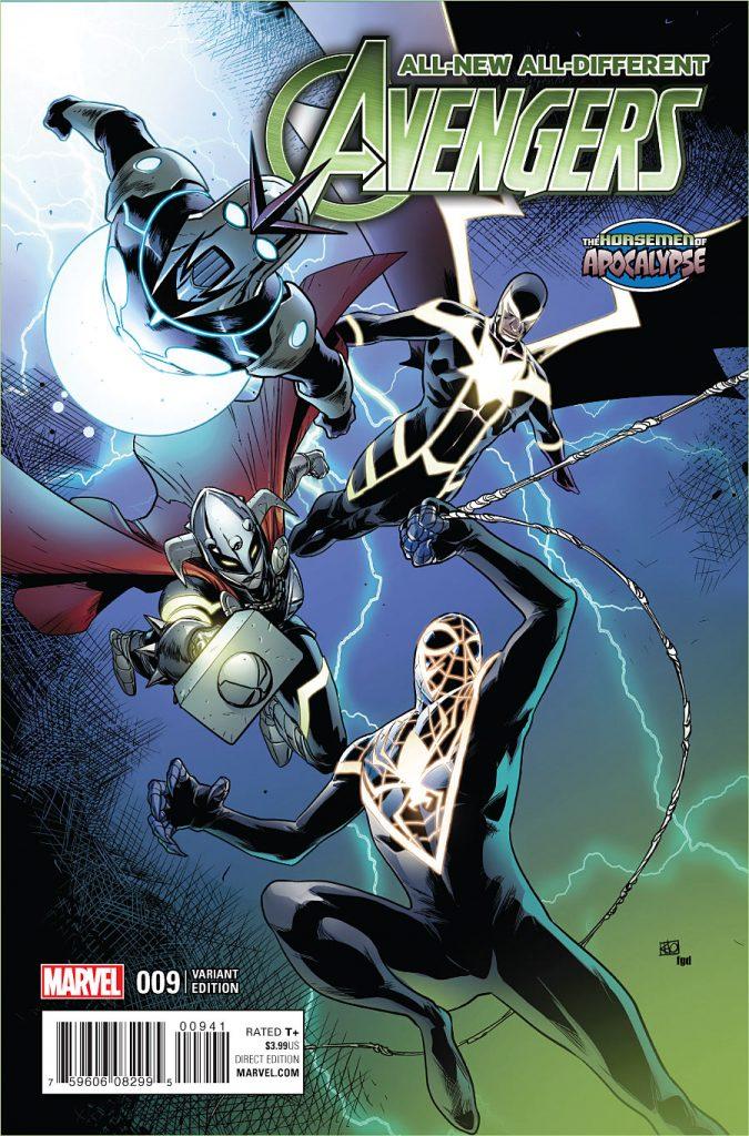All-New All-Different Avengers #9 Horsemen of Apocalypse Variant