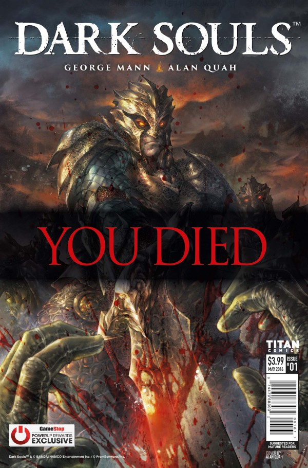 Dark Souls #1 Gamestop Variant