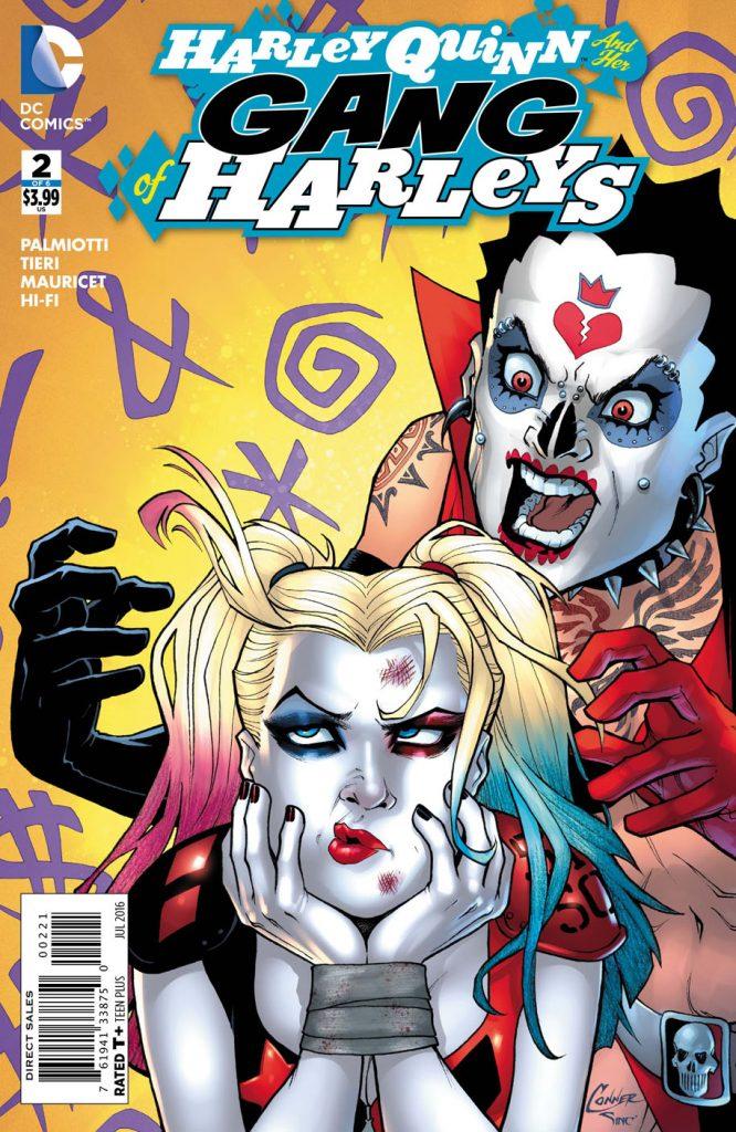 Harley Quinn and her Gang of Harleys #2 Variant