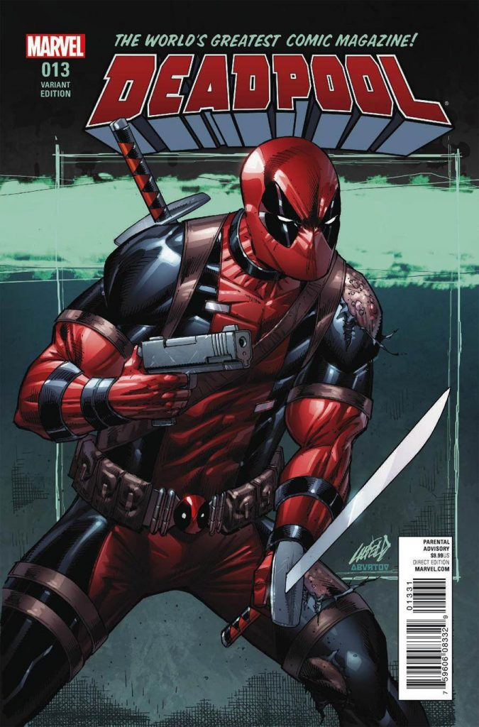 Deadpool #13 Rob Liefeld 1:100 Variant