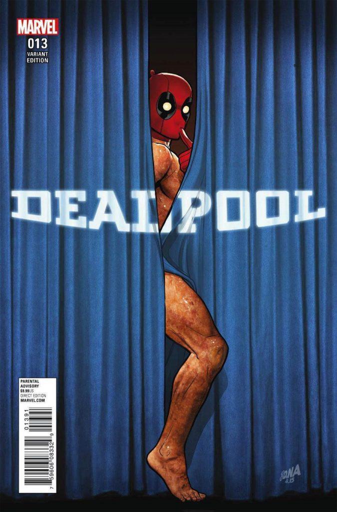 Deadpool #13 David Nakayama 1:52 Variant