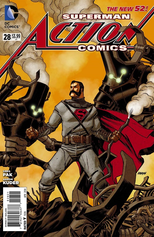 Action Comics #28 Steampunk Variant