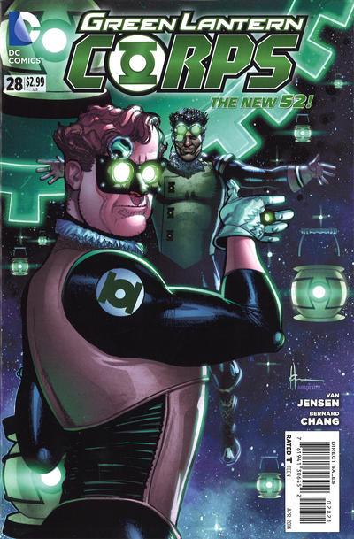 Green Lantern Corps #28 Steampunk Variant