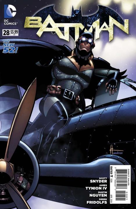 Batman #28 Steampunk Variant
