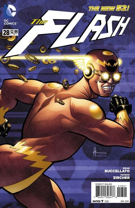 Flash #28 Steampunk Variant