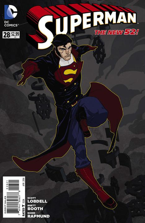 Superman #28 Steampunk Variant