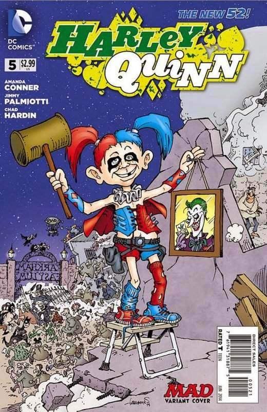 Harley Quinn #5 MAD Variant