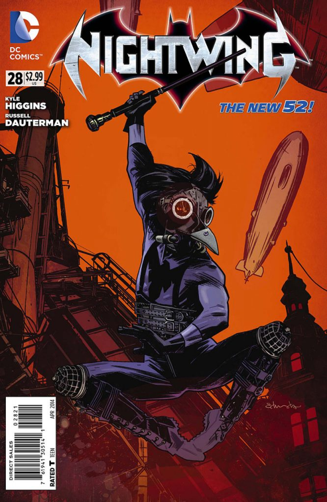 Nightwing #28 Steampunk Variant