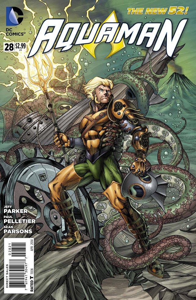 Aquaman #28 Steampunk Variant