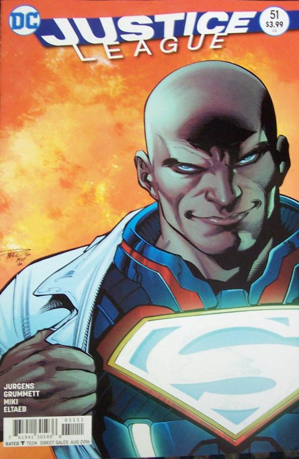 Justice League #51 Error Cover