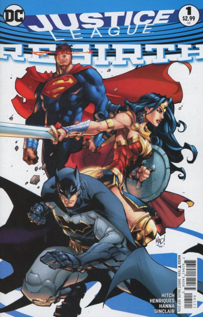 Justice League #1 Joe Madureira Variant