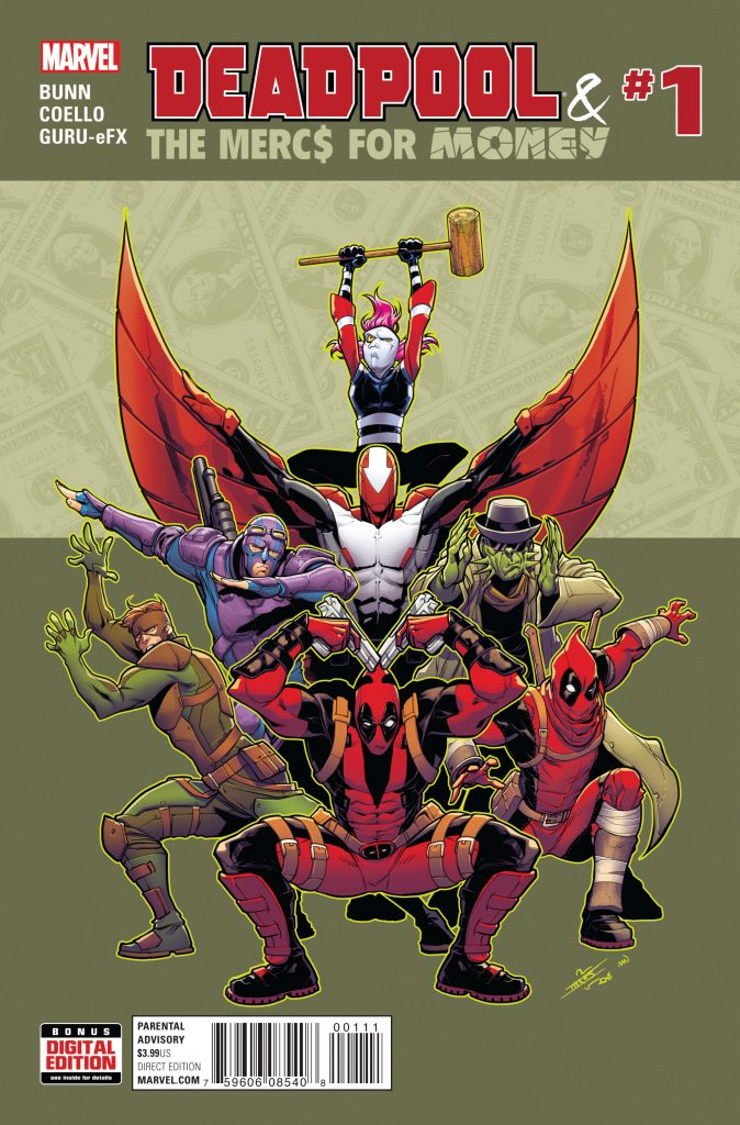 Deadpool and the Mercs For Money #1