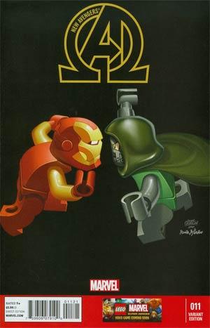 New Avengers #11 Lego Variant