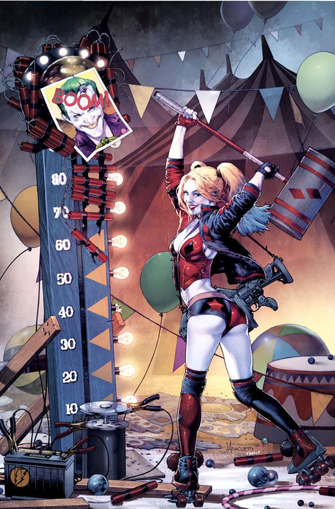 Anacleto Harley Quinn 1 (variant) Jay Anacleto Cover_colors_revised_small