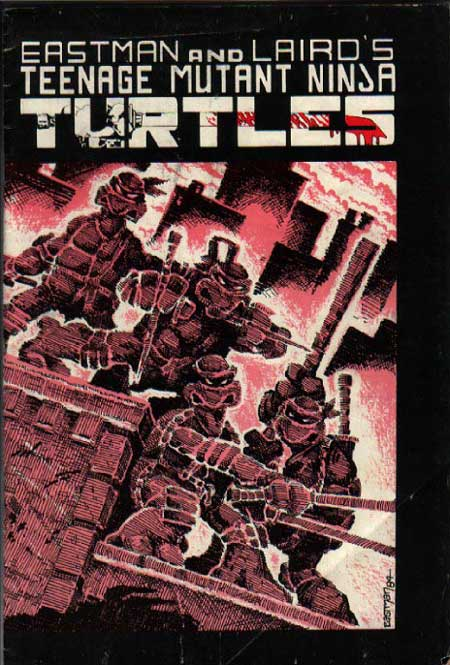 Teenage Mutant Ninja Turtles #1 2nd Printing