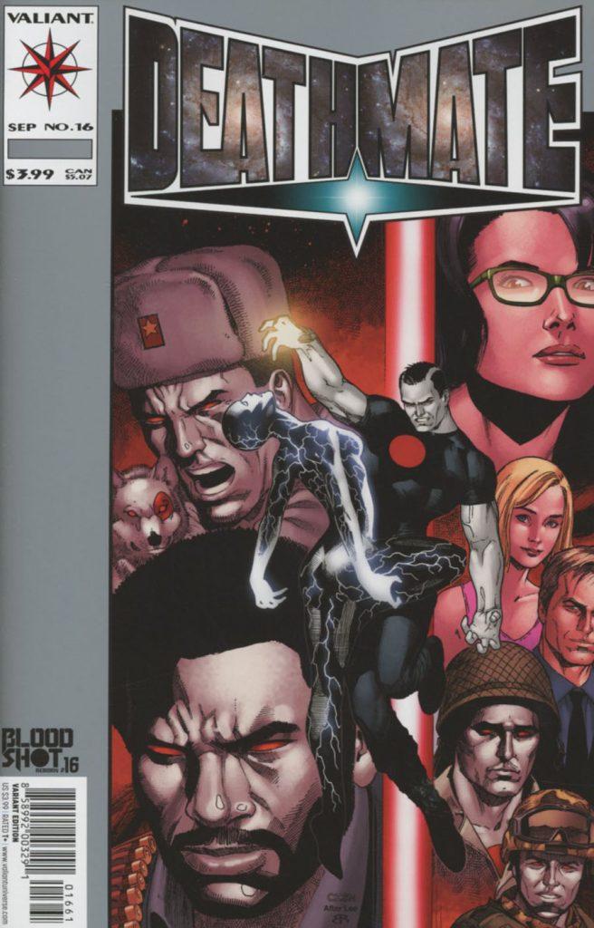 Bloodshot Reborn #16 Sean Chen Variant