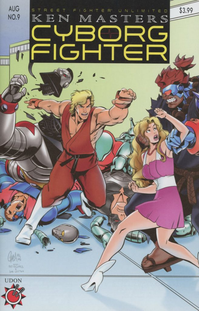 Street Fighter Unlimited #9 Homage Cover