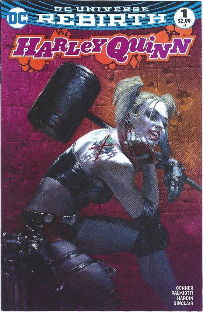 Harley Quinn #1 Dell'Otto Pink Variant