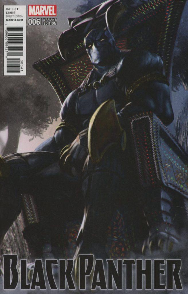 Black Panther #6 UDON 1:25 Variant