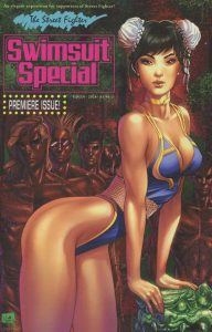 Street Fighter Swimsuit Special #1 Nei Ruffino Homage Variant