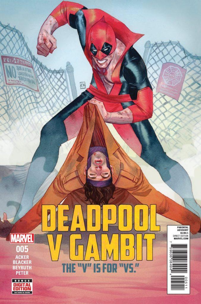 Deadpool v Gambit #5