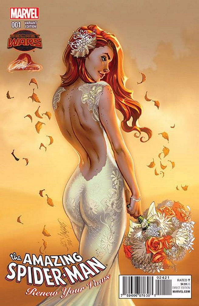 Amazing Spider-Man: Renew Your Vows #1 J Scott Campbell Exclusive