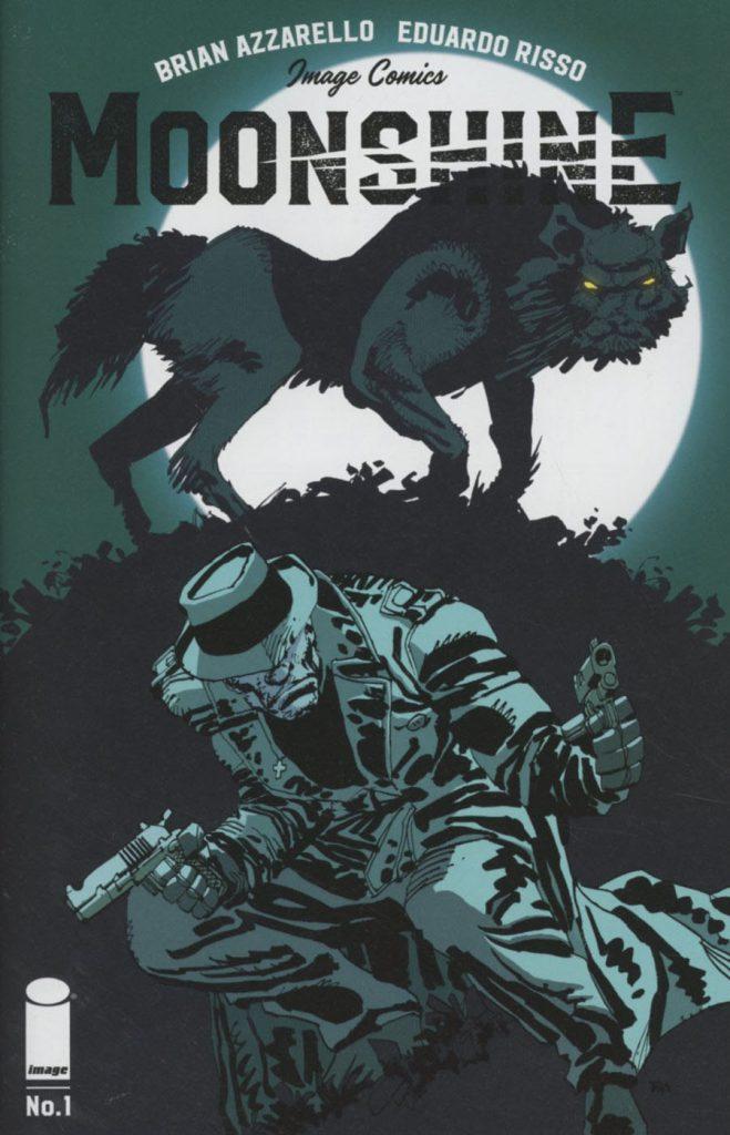 Moonshine #1 Frank Miller Cover
