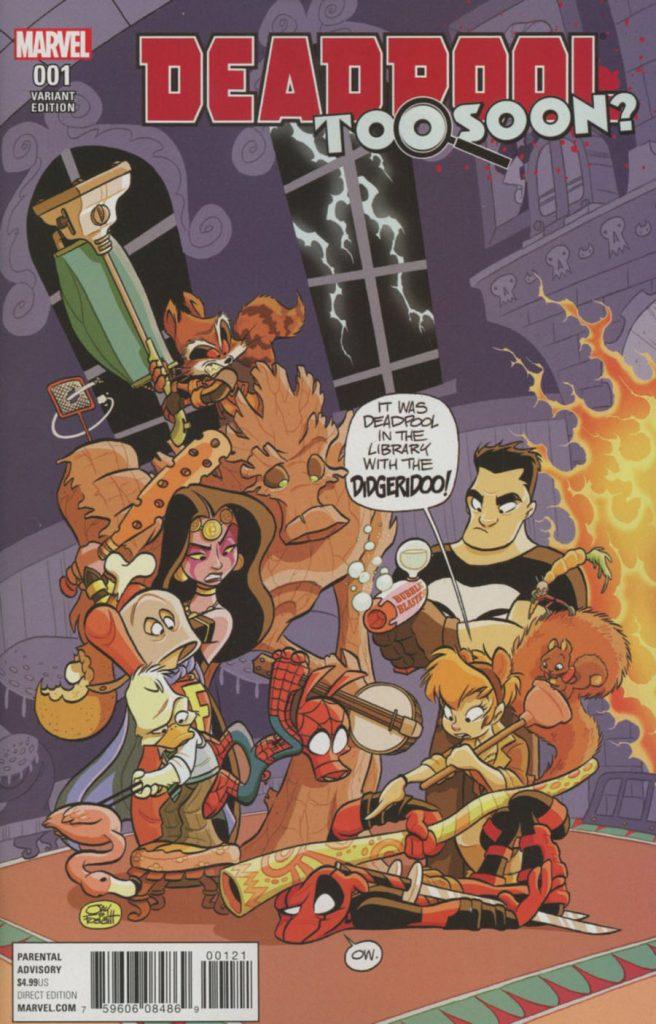 Deadpool: Too Soon #1