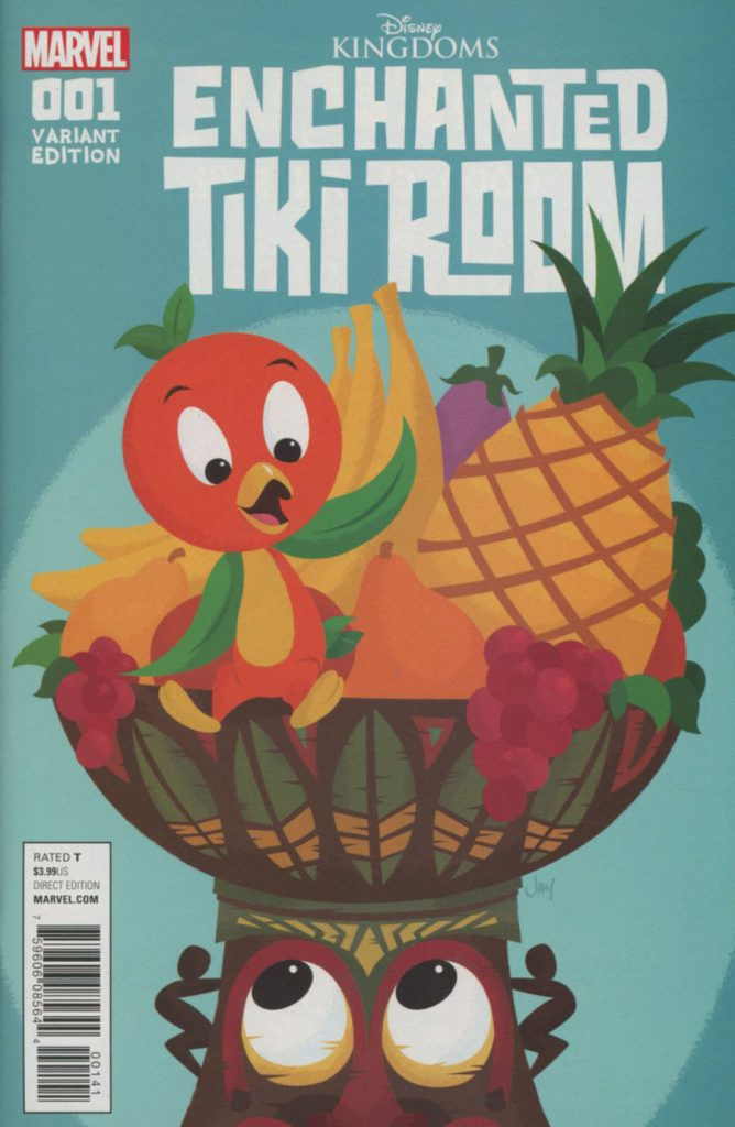 Enchanted Tiki Room #1 Grandt 1:50 Orange Bird Variant