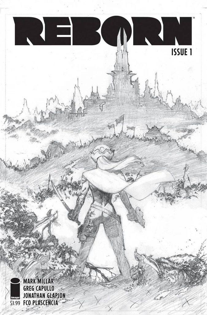 Reborn #1 Sketch 1:100 Variant
