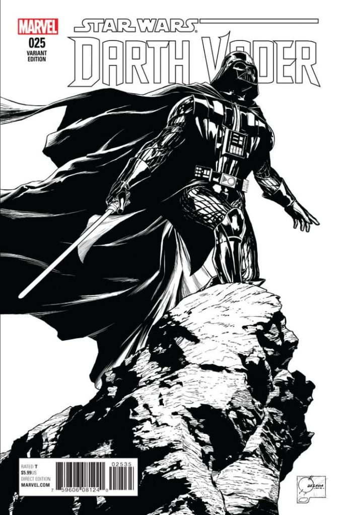 Darth Vader #25 Joe Quesada 1:200 Variant