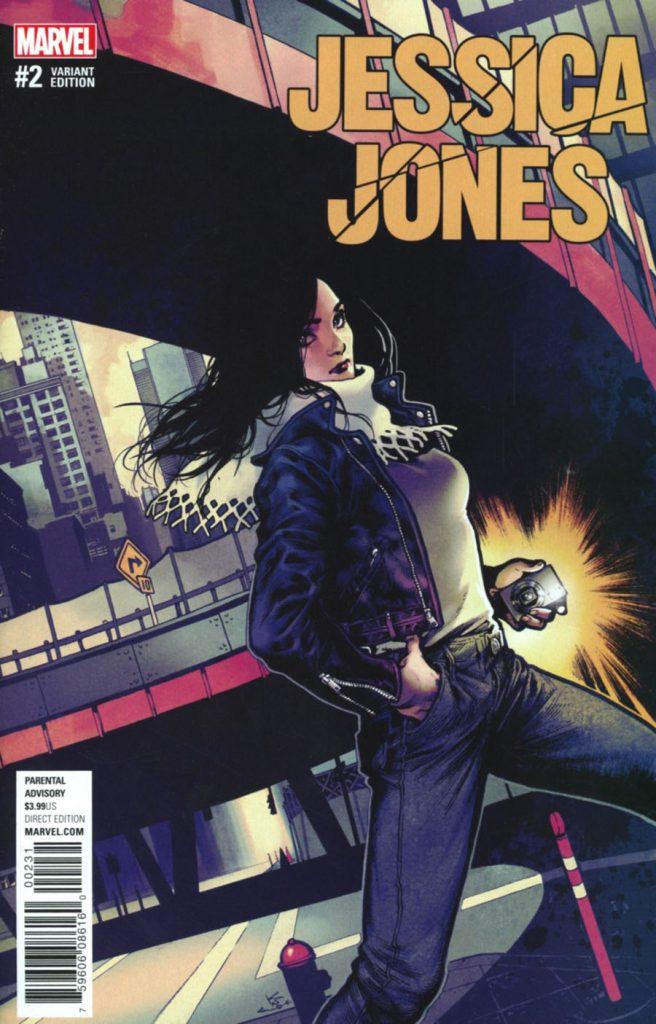 Jessica Jones #2 Karmone Shirahama Variant