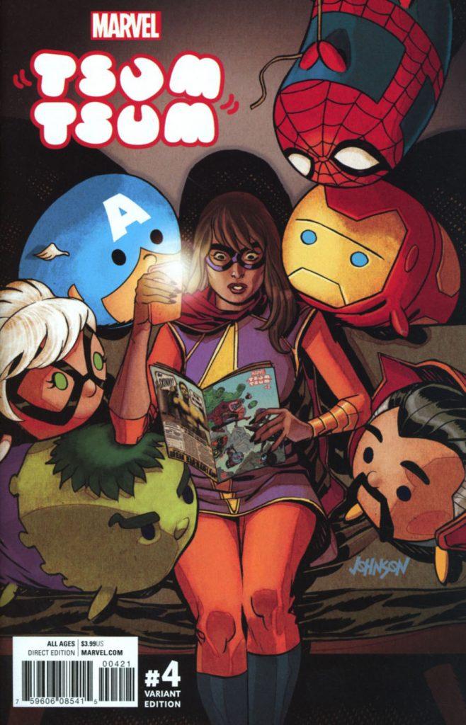 Marvel Tsum Tsum #4 Dave Johnson 1:25 Variant