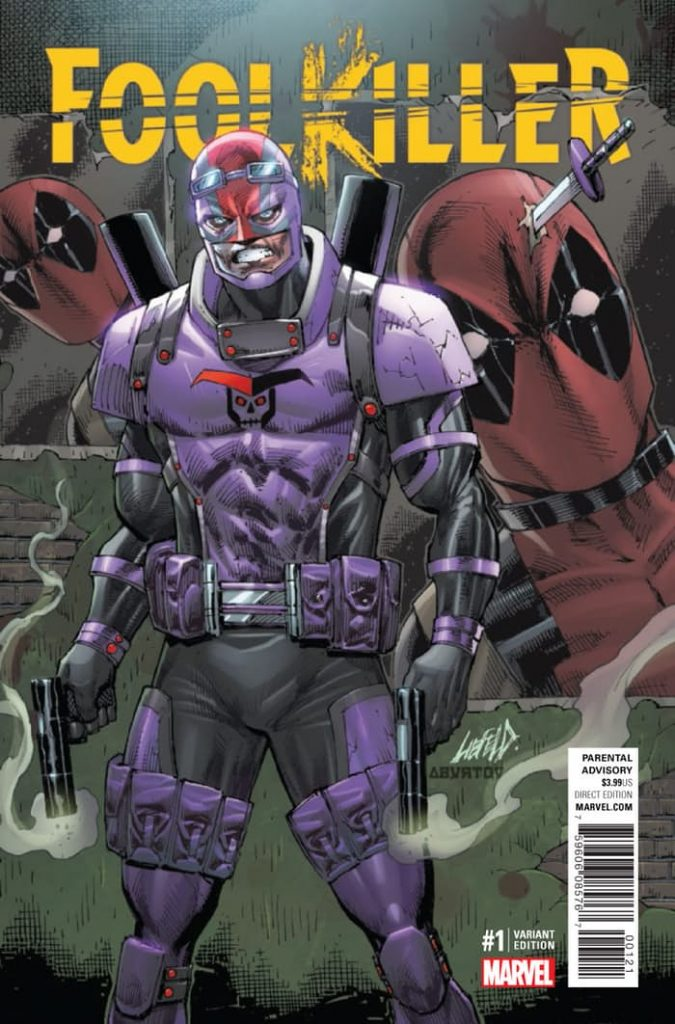 Foolkiller #1 Rob Liefeld Variant