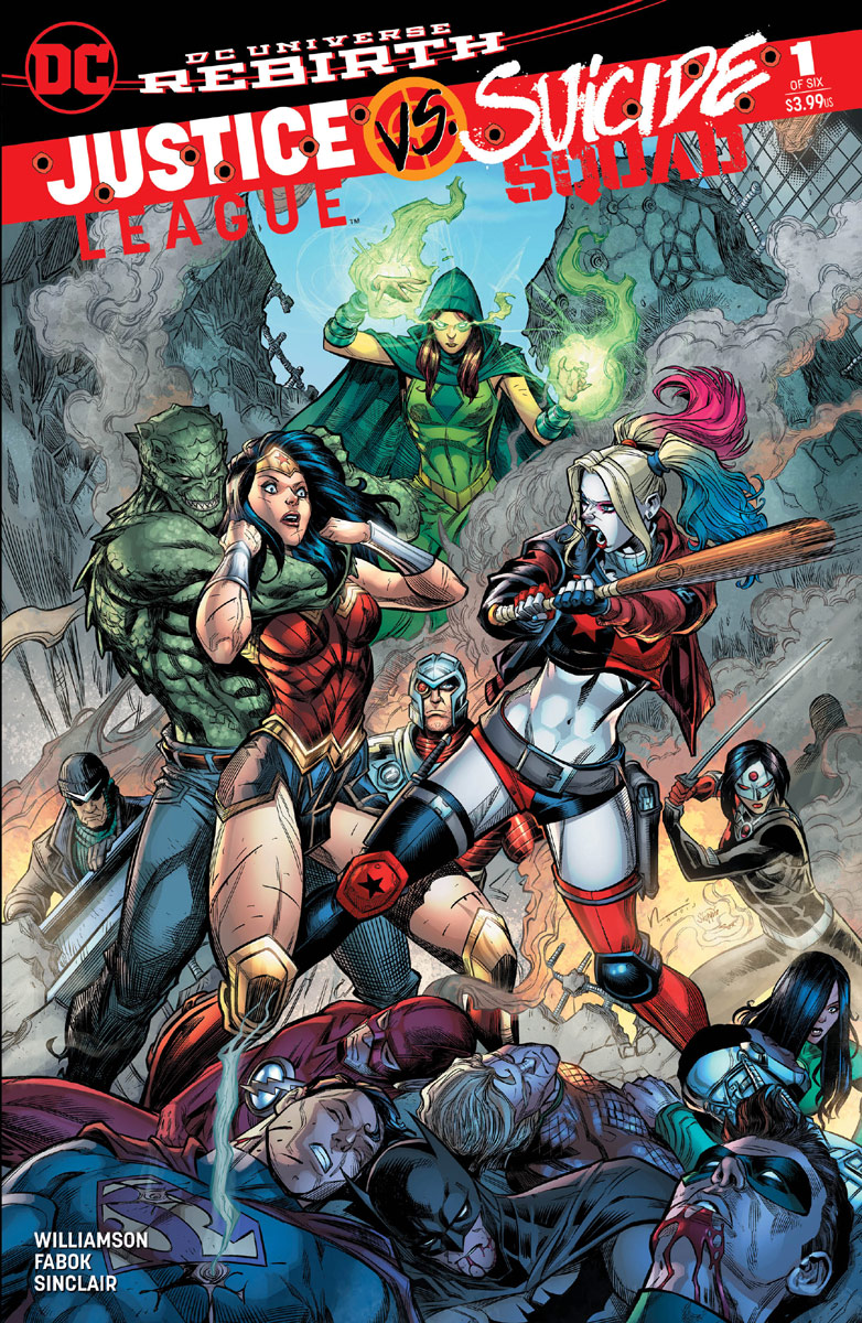 Justice League Vs Suicide Squad : justice, league, suicide, squad, Justice, League, Suicide, Squad, Hardin, Variants, Comics