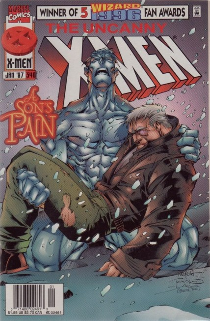 xmen 340 newsstand