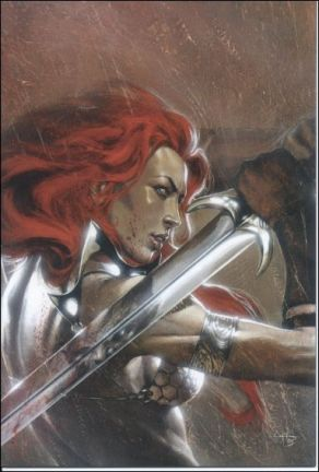 Red Sonja vs Thulsa Doom #4 Dell'Otto Virgin Variant