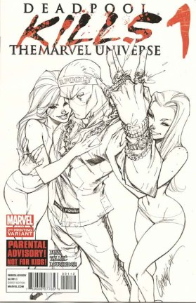 Deadpool Kills the Marvel Universe #1 2nd Print