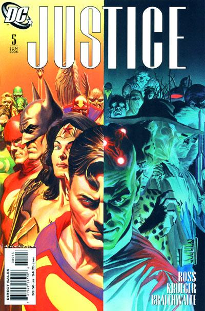 Justice #5 3rd Print