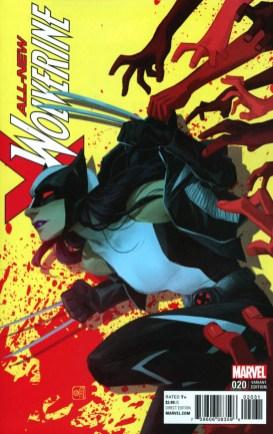 All-New Wolverine #20 Helen Chen Variant