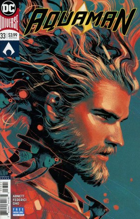 Aquaman Vol 6 #33 Cover B Variant Joshua Middleton Cover