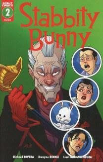 Stabbity Bunny #2 Cover B Incentive Dwayne Biddix Variant